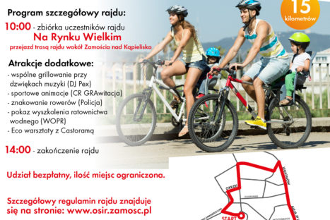 Eco Family Bike Tour – Zamość 2018